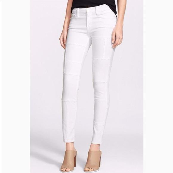 Frame Denim Jeans | Le Skinny De Jeanne White Panel | Poshmark